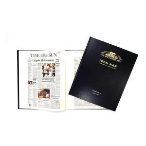 """""""Iron Man: Cal Ripken Jr.'s Historic Career"""" Newspaper Book - Personalized"""