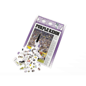 """Purple Reign"" Super Bowl XXXV Baltimore Ravens Puzzle"