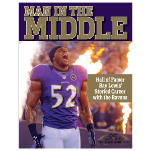 Man in the Middle Hall of Famer Ray Lewis' Storied Career with the Ravens