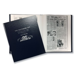 The Baltimore Sun Commemorative Date Book