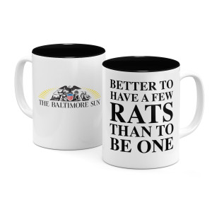 Better to Have a Few Rats Mug
