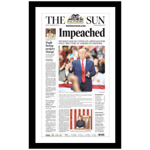 """Impeached"" 12/19/2019 Page Print"