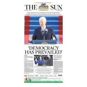 """""""Democracy Has Prevailed"""" Jigsaw Puzzle"""