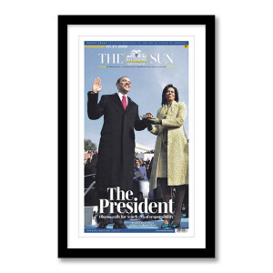 """""""The President"""" 1/21/2009 Page Print"""