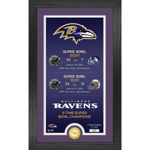 "Baltimore Ravens ""Legacy"" Bronze Coin Photo Mint"