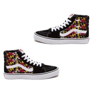 Maryland Flag Vans Sk8-Hi Shoe