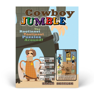 Cowboy Jumble: The Rootinest, Tootinest Puzzles Around!