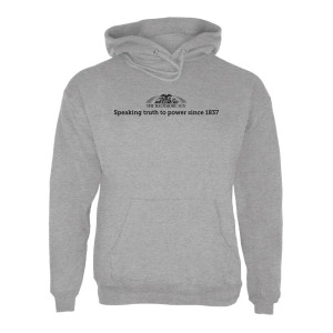 "The Baltimore Sun ""Speaking Truth to Power"" Hoodie"