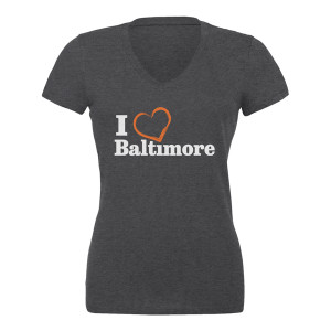I Heart Baltimore Juniors' T-Shirt