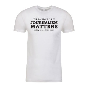 Baltimore Sun Journalism Matters Shirt