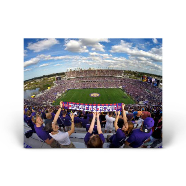 Sports  Orlando City Soccer MLS Game Fans