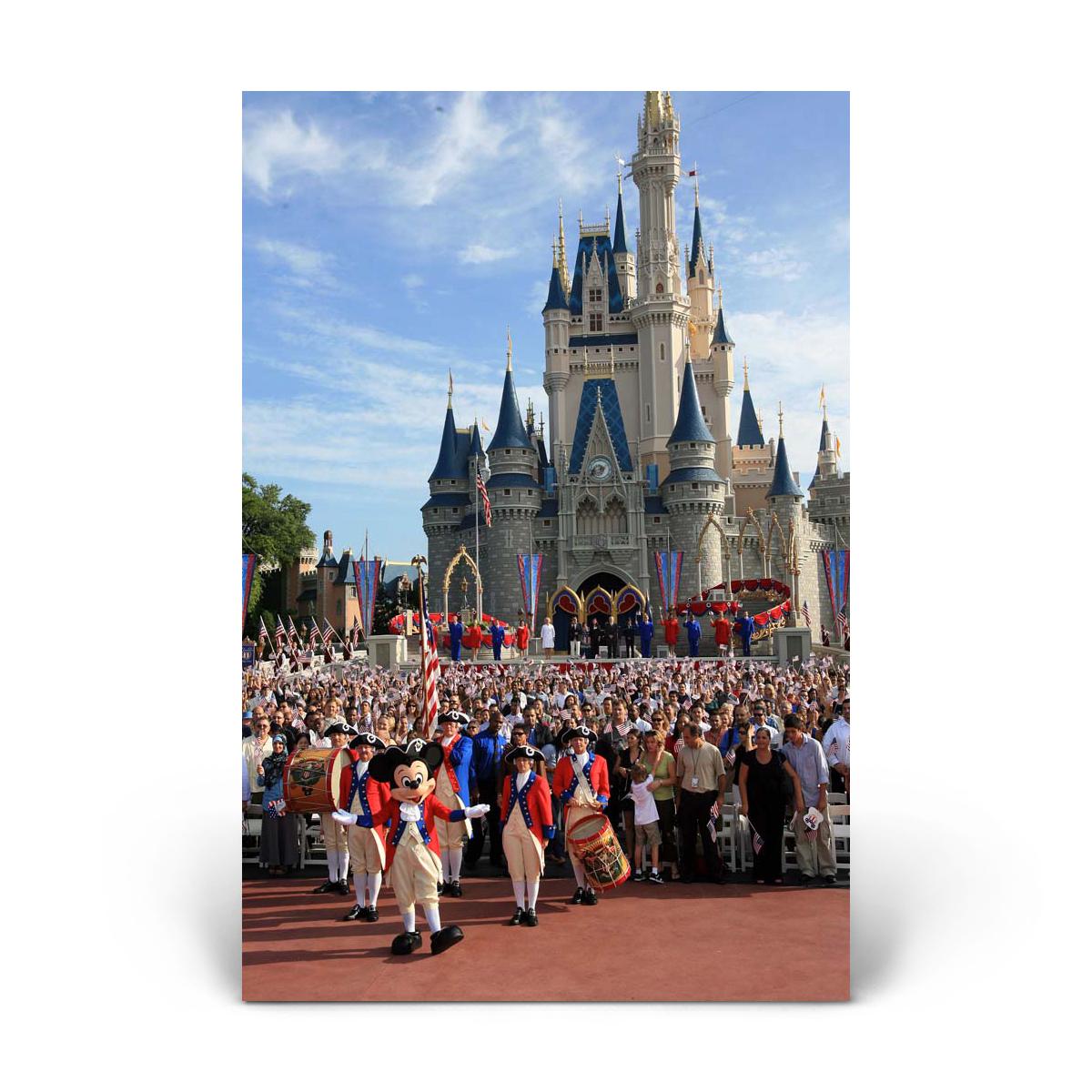 Cinderella's Castle: Colonial Welcome