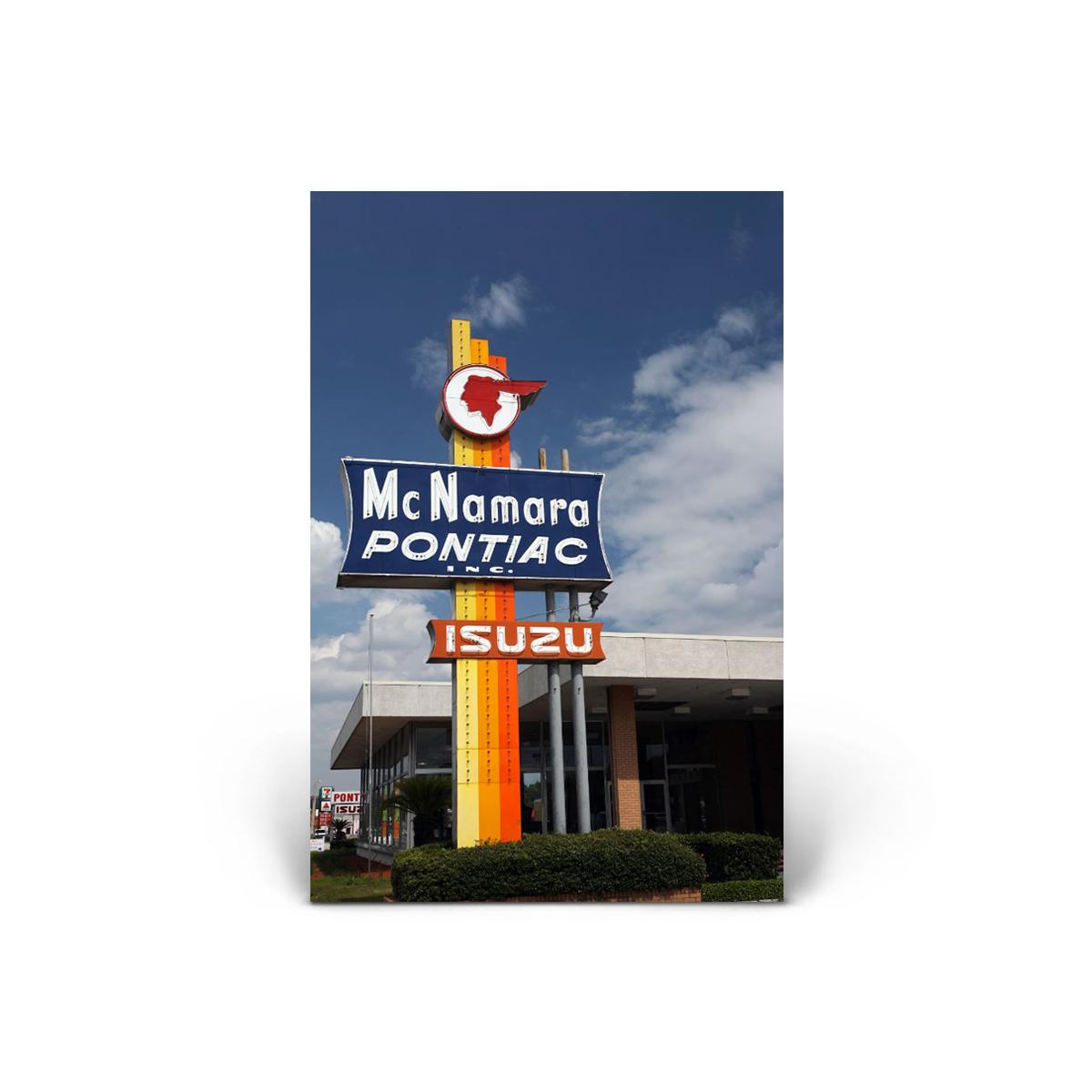 Historical Photos: McNamara Pontiac Inc. Vertical