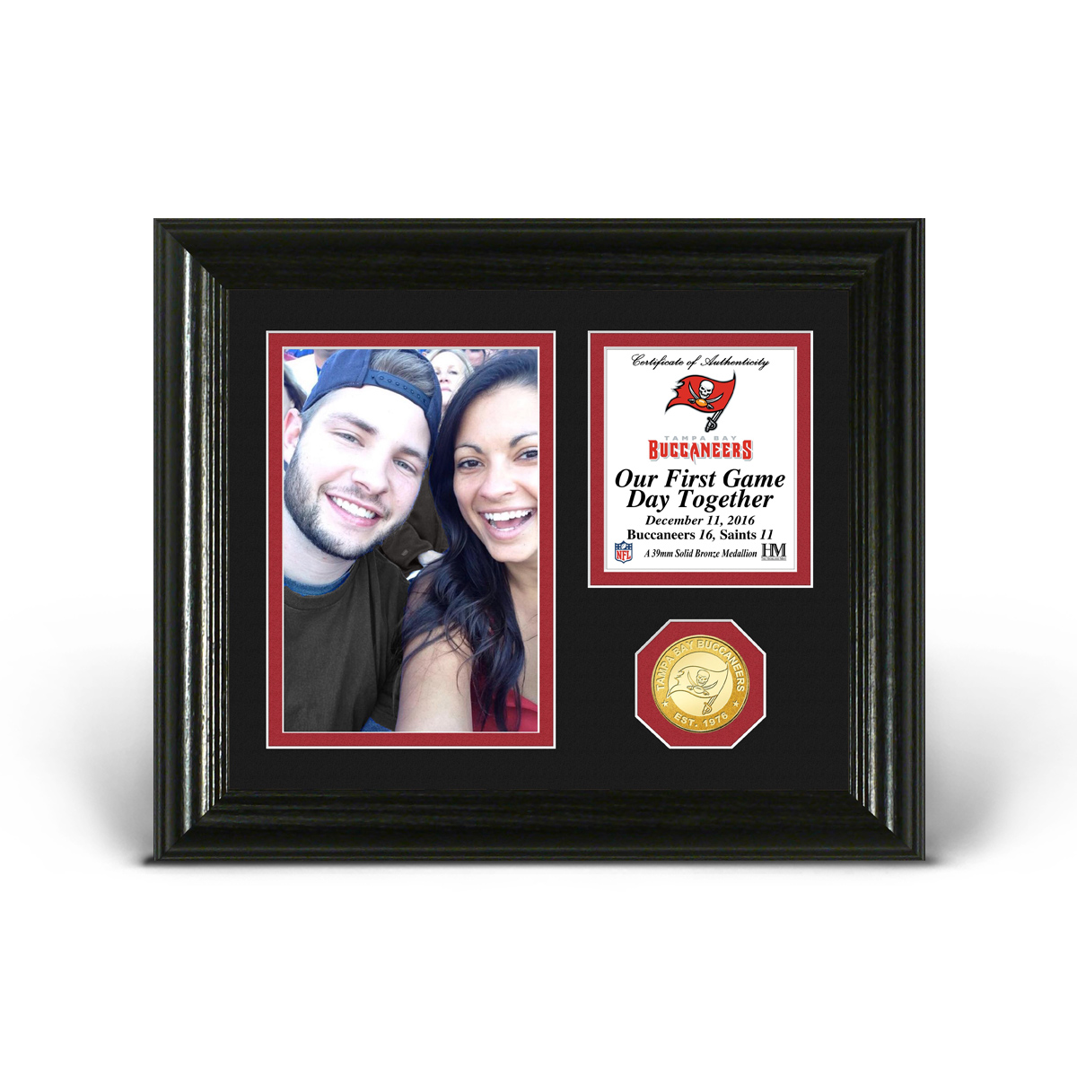 Tampa Bay Buccaneers Game Day Personalized Photo Frame
