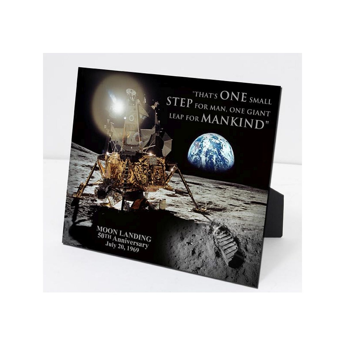 Apollo Moon Landing Quote PleXart