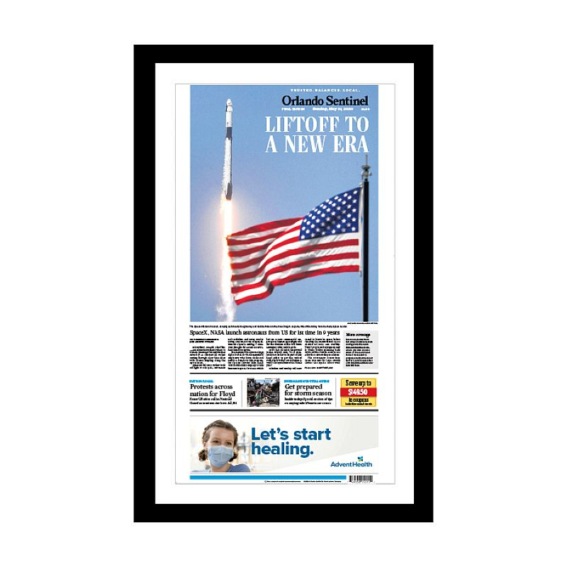 5/31/2020 SpaceX's Falcon 9 Launch Front Page Print