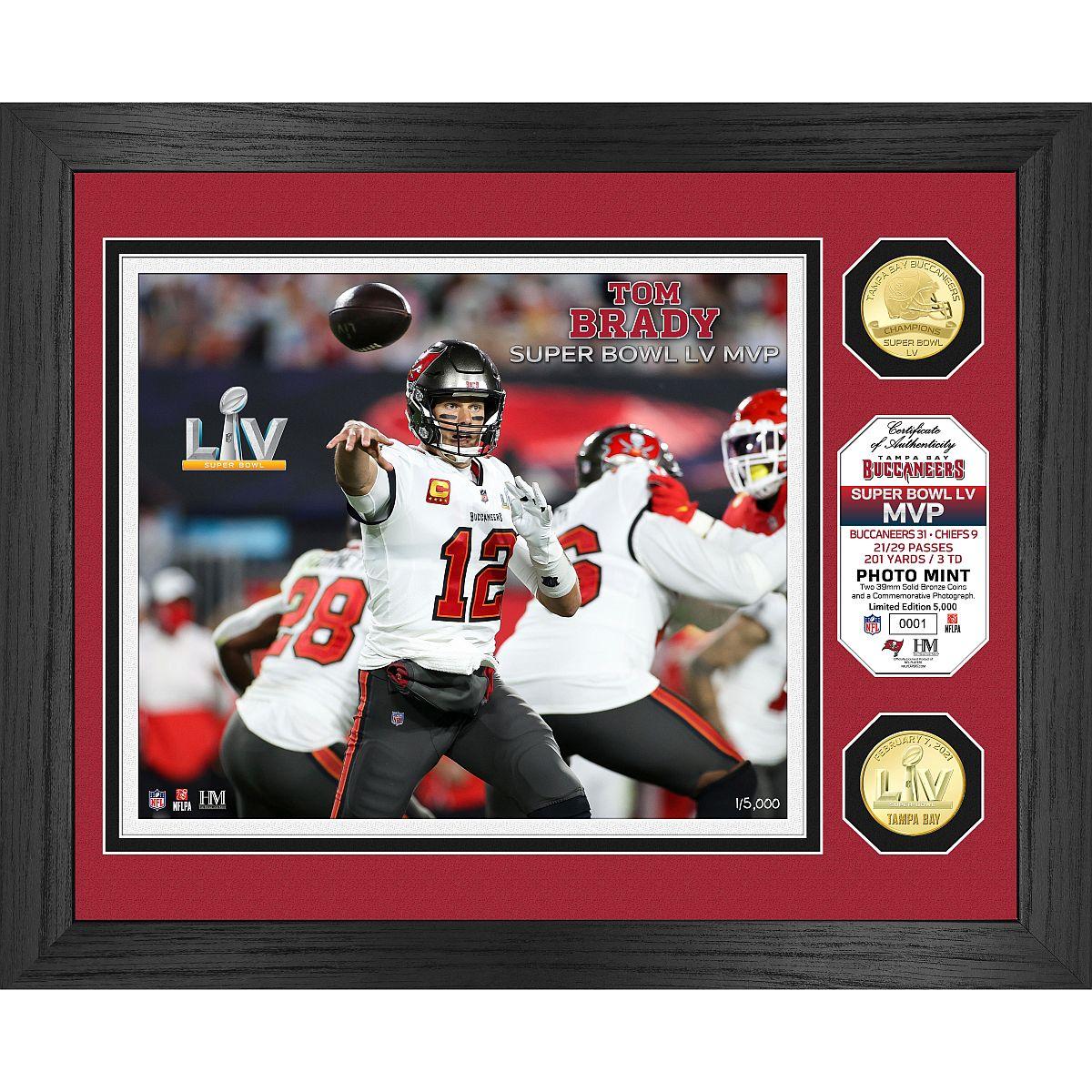 Tampa Bay Buccaneers Super Bowl 55 MVP Bronze Coin Photo Mint