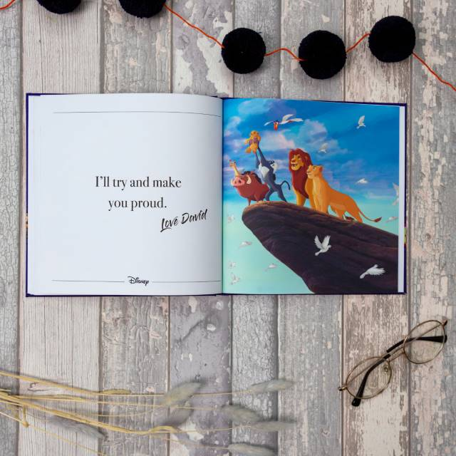 Disney Dads Personalized Book