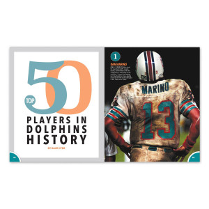 Miami Dolphins 50th Anniversary Book
