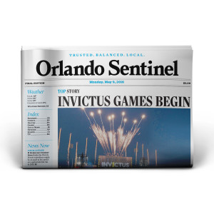 Orlando Sentinel Back Issue