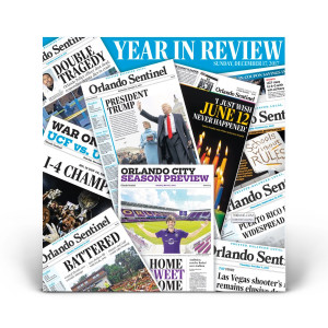 2017 Orlando Sentinel Year In Review