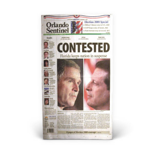 Commemorative Front Page: Contested