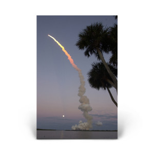 Red Huber: Atlantis Launch