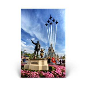 Cinderella's Castle: Blue Angels