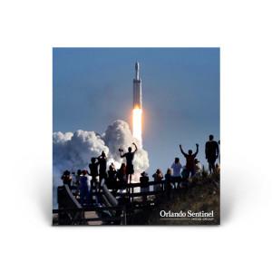 SpaceX Falcon Heavy Launch, Playalinda Beach - 02/06/18