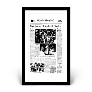 Orlando Sentinel Page Print