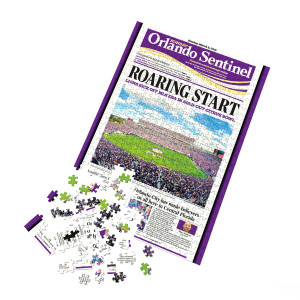 Orlando City Soccer Club Front Page Puzzle