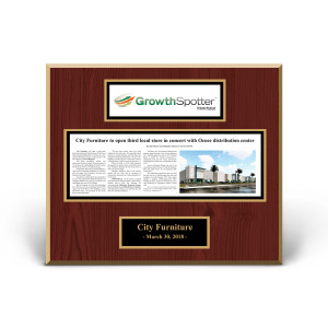GrowthSpotter Custom Article Print Plaques