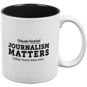 Orlando Sentinel Journalism Matters Mug