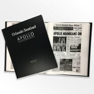 Apollo: 50th Anniversary Edition Newspaper Book
