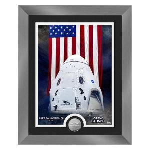 Launch America Dragon Crew Capsule Silver Coin Photo Mint