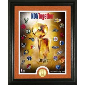 NBA 2020 Season Finale Bronze Coin Photo Mint