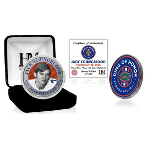 Jack Youngblood Ring of Honor Silver Mint Coin