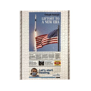 SpaceX Falcon 9 Launch Jigsaw Puzzle
