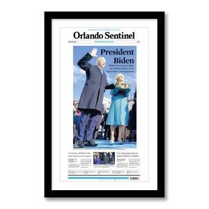 """""""President Biden"""" 1/21/2021 Page Print"""