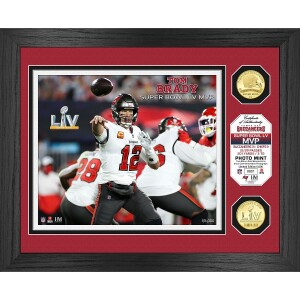 Tampa Bay Buccaneers Super Bowl 55 MVP Bronze Coin Photo Mint