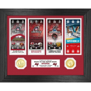 Tampa Bay Buccaneers Road to Super Bowl 55 Ticket Collection