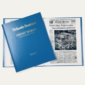 Disney World 50th Anniversary Edition Newspaper Book