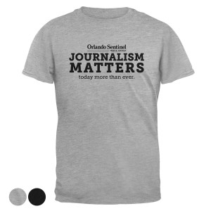 "Orlando Sentinel ""Journalism Matters"" T-Shirt"