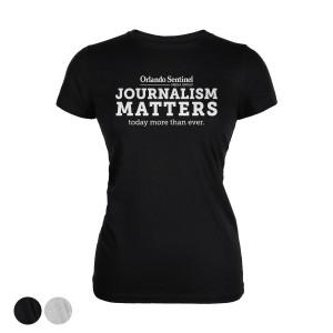 "Orlando Sentinel ""Journalism Matters"" Women's T-Shirt"
