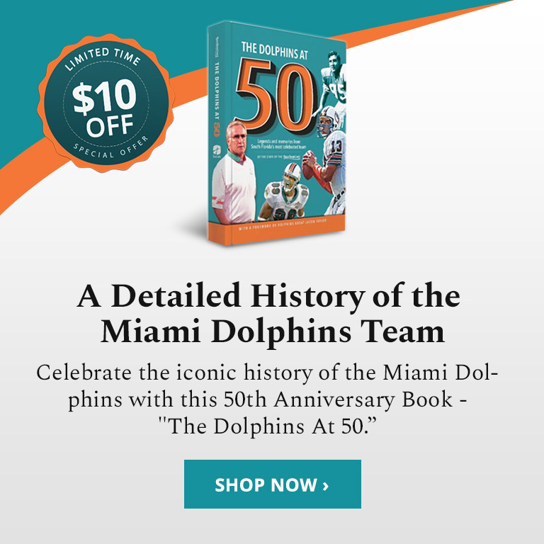 Save $10 On The Dolphins At 50!