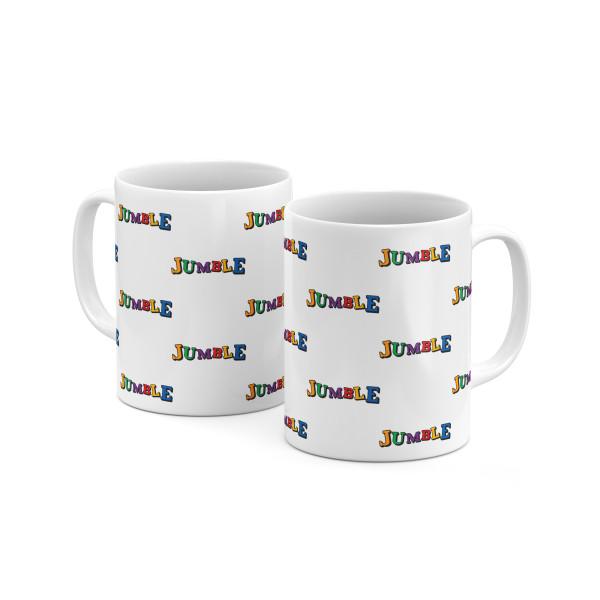 Jumble All Over Mug