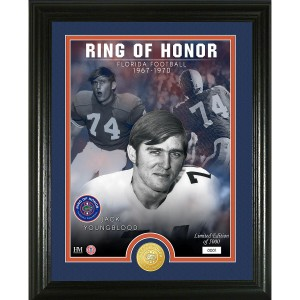 Jack Youngblood ROH Bronze Coin Photo Mint