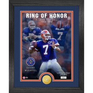 Danny Wuerffel Florida Gators 2021 Ring of Honor Bronze Coin Photo Mint