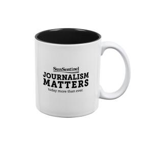 Sun Sentinel Journalism Matters Mug
