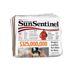 Sun Sentinel Back Issue